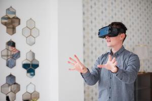 3D Virtuális Séta -VR nézet