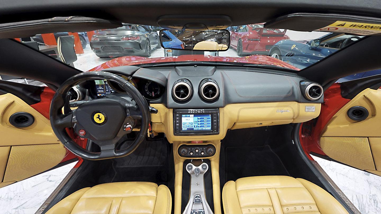 virtuális autószalon belső