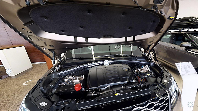 virtuális autószalon motor