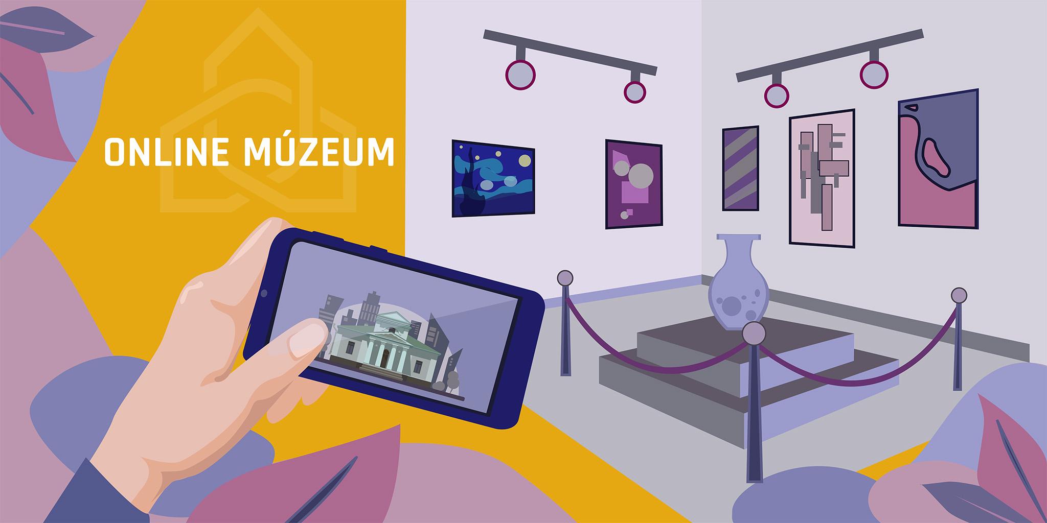 virtuális séta 3+1 ok online múzeum